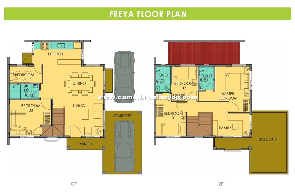 Camella calbayog freya house and lot for sale in calbayog freya floor plan house and lot in calbayog ccuart Image collections