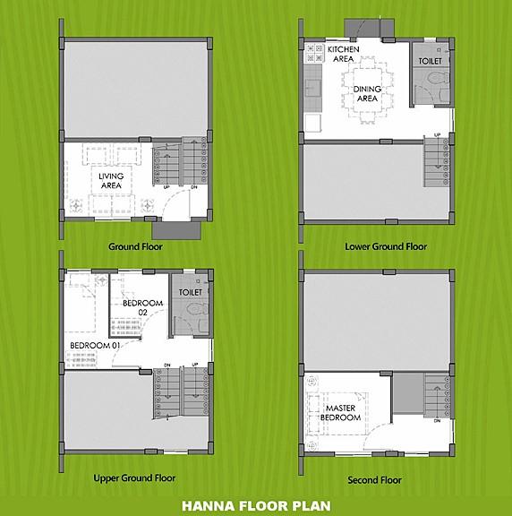 Hanna Floor Plan House and Lot in Calbayog