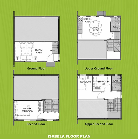 Isabela Floor Plan House and Lot in Calbayog