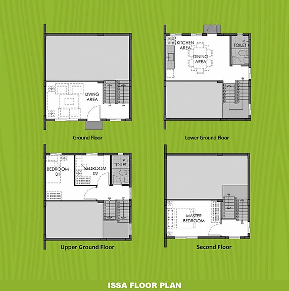 Issa Floor Plan House and Lot in Calbayog