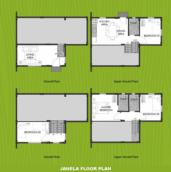 Janela Floor Plan House and Lot in Calbayog