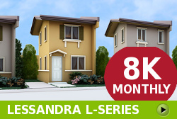 Lessandra Affordable Houses in Camella Calbayog